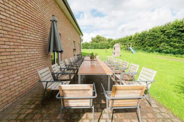 Les Bouleaux - België - Ardennen - 24 personen - tuin