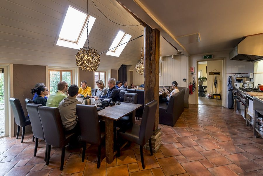 Groepsaccommodatie 29752 - Nederland - Drenthe - 27 personen - eettafel