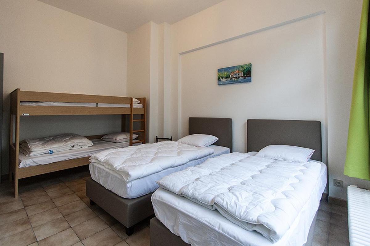 Groepsaccommodatie BK010 - Belgie - West-Vlaanderen - 20 personen - slaapkamer