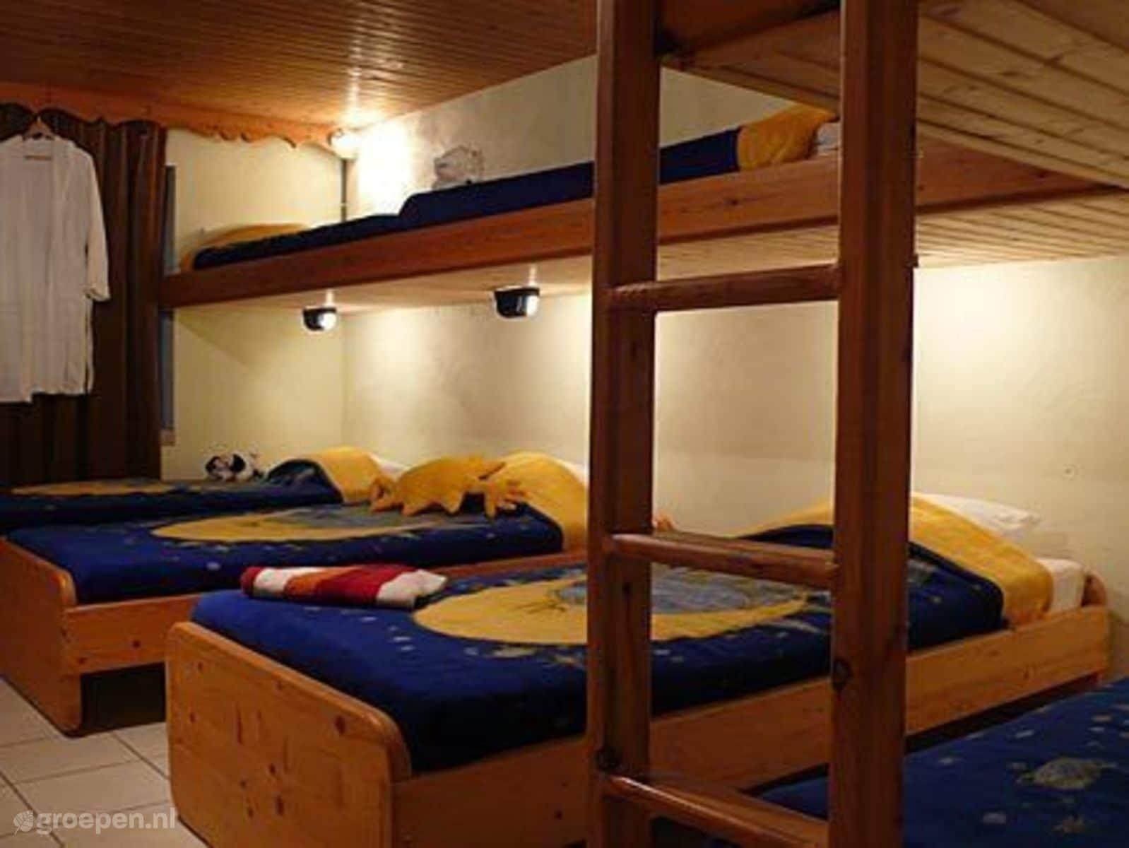 Groepsaccommodatie La Roche en Ardenne - België - Ardennen - 29 personen - slaapkamer