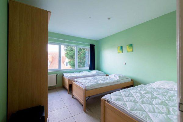 Groepsaccomodatie BK006 - Belgie - West-Vlaanderen - 20 personen - slaapkamer