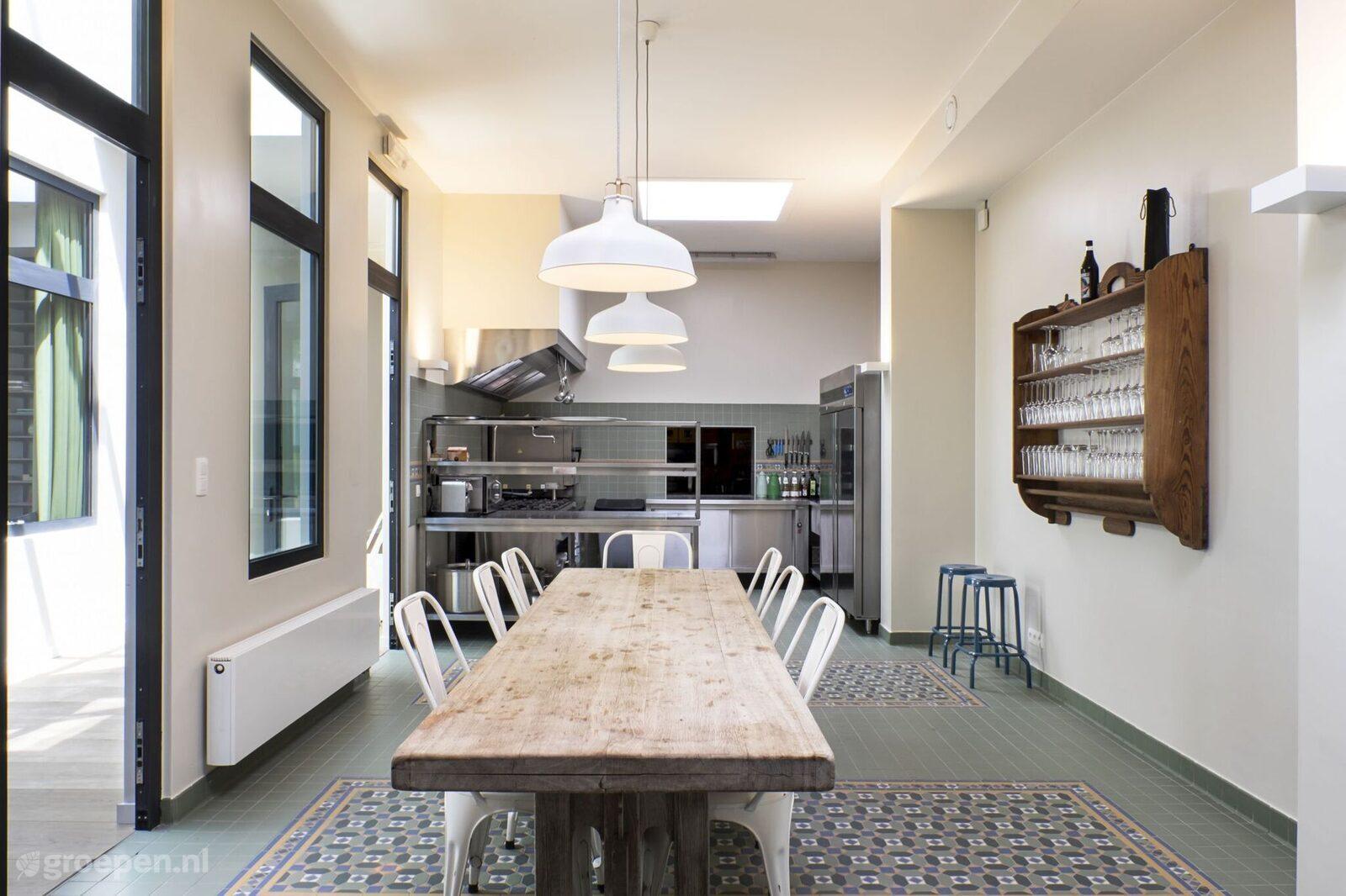 Vakantiehuis Hubermont - België - Luxemburg - 20 personen - keuken